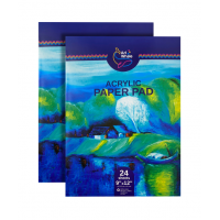 Acrylic Paper Pads, pack of 2