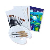 Acrylic Art Set, 21 pcs Painting Tools For Acrylic Painting